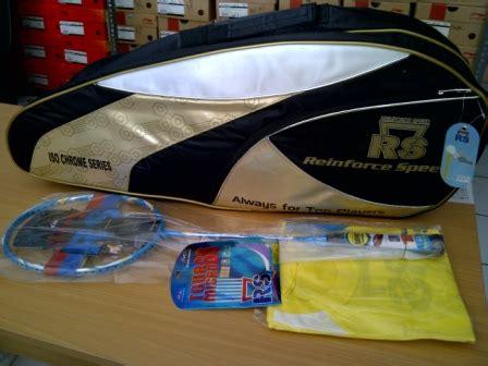 Raket Rs Iso Chrome Gold Jual Perlengkapan Olahraga Bulutangkis Badminton