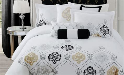 black white and gold bedding gold black and white bedding for the home pinterest