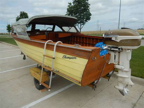 thompson wooden boats for sale wooden boats thompson wooden boats