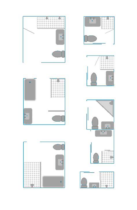 voorbeelden toilet indeling 8 kleine badkamer plattegronden kleine badkamers