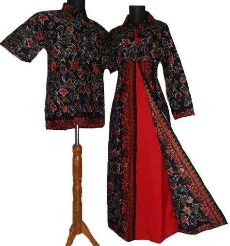 desain baju batik pasangan 24 koleksi gambar baju batik gamis 2018 terbaru gambar