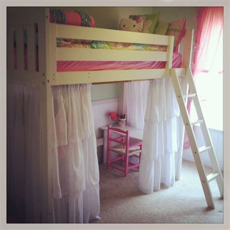 loft bed with curtains curtain under loft bed decorate the house with beautiful
