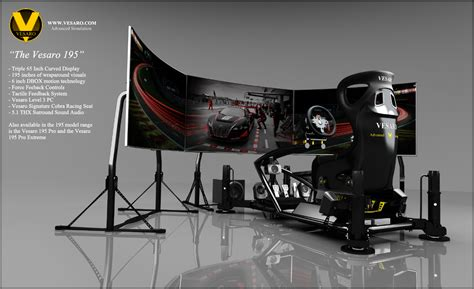 Racing Simulator Chair Hydraulic Racing Seat 171 Vesaro