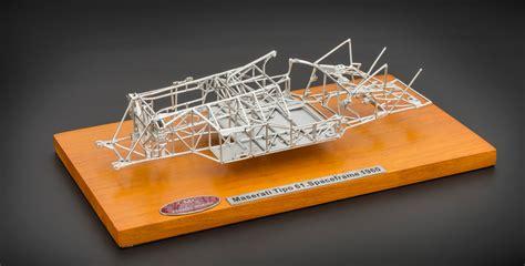 maserati birdcage frame cmc maserati tipo 61 birdcage space frame cmc modelcars