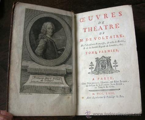 libro obras de voltaire biblioteca 1764 obras de teatro de voltaire 5 tomos comprar en todocoleccion 75273869
