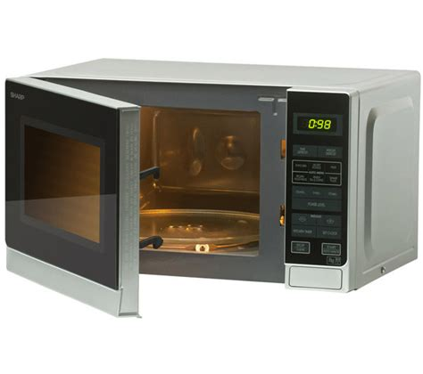 Microwave Sharp R 299in S r272slm 20 l mi sharp r272slm microwave silver currys pc world business