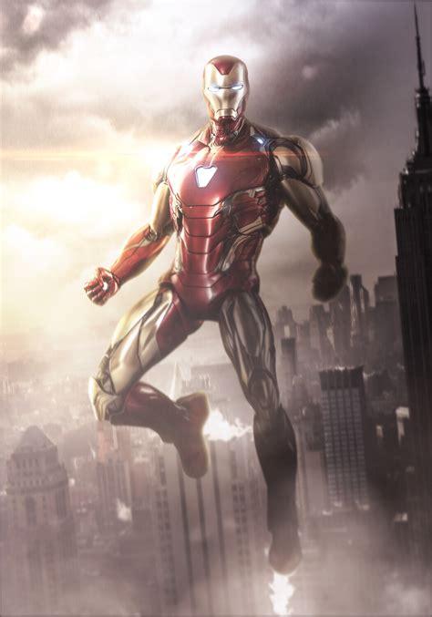 artstation avengers endgame iron man mark mizuri