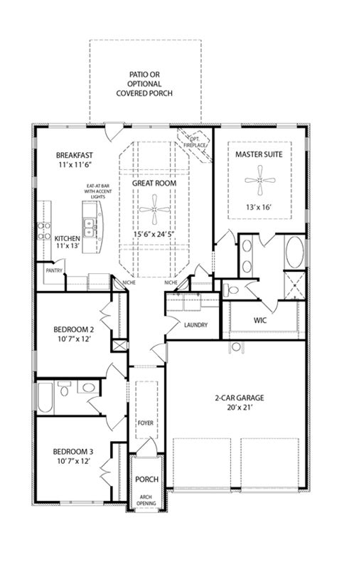 brookland i at lenox of smyrna floor plans regent homes