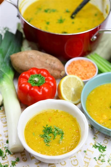 Vegan Lentil Detox Soup by Detox Lentil Veggie Soup Colorful Recipes