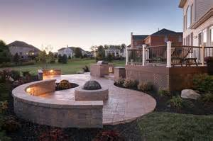 Small Fire Pit For Patios Get Inspired By Multi Level Patios