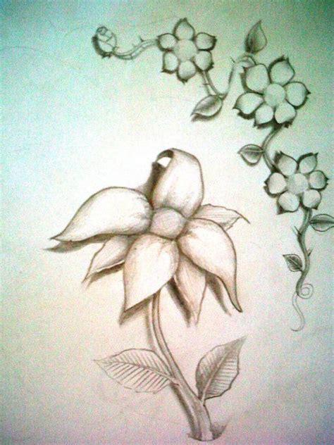 imagenes a lapiz flores dibujos o dise 241 os de tattoo s hechos por mi taringa