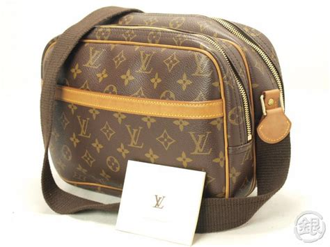 authentic louis vuitton monogram reporter pm messenger bag