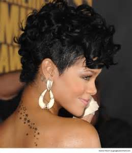 back view of rinna hair sizzling mohawk hairstyles for women inspired by rihanna