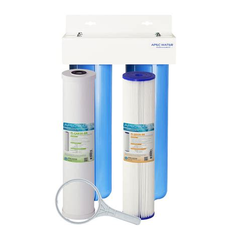 apec water systems whole house 2 stage water filtration