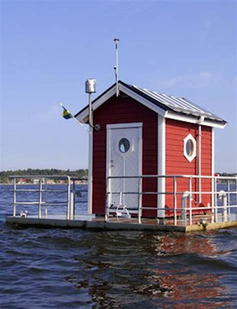 tiny house that s half under water