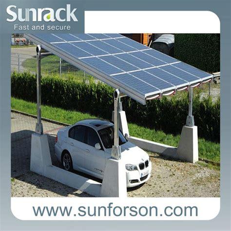 Aluminum Carport Installation The Design Aluminum Solar Carport Kits View
