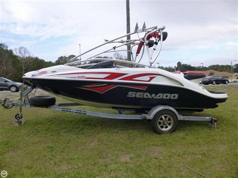 used jon boats for sale ta 2006 seadoo speedster wake jet boat detail classifieds