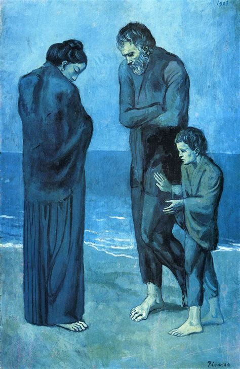 picasso paintings from the blue period pablo picasso s blue period 1901 1904