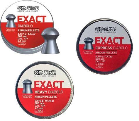 Jsb Exact Heavy 177 Pellets jsb exact 177 pellets diabolo heavy express 4 52 4