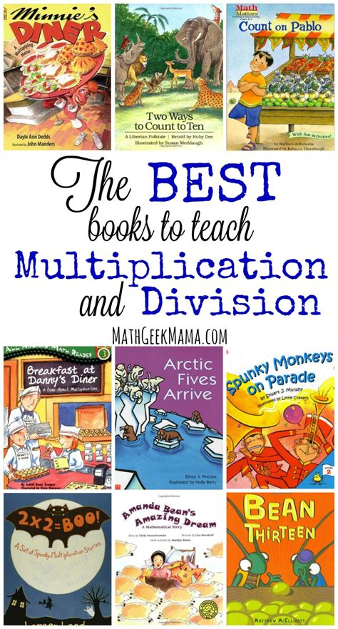 how to teach my child times tables the best books to teach multiplication and division