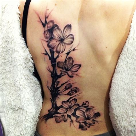 black cherry tattoo tattooing skin 3d