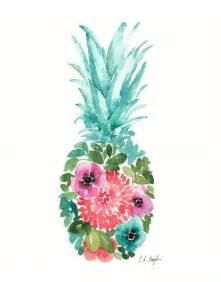 pineapple l 25 best ideas about pineapple painting on