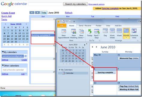 Calendar Sync Outlook 2010 Sync Calendar Outlook 2010 Fix