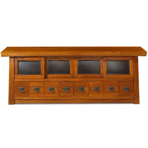 media consoles furniture media console tv unit in solid elm wood asian