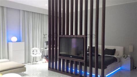 luxurious studio interior decor partition tv redecorme