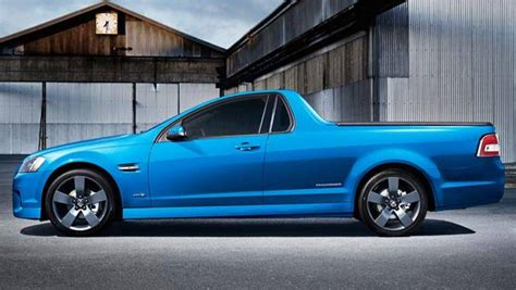 holden car truck holden thunder ute returns car news carsguide