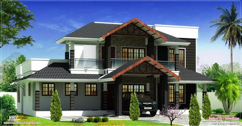 sloping roof house designs january 2013 kerala home design and floor plans