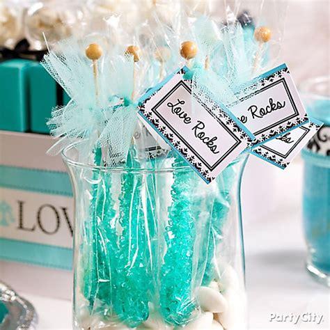 edible bridal shower favor ideas personalized rock favors idea robins egg blue buffet ideas bridal shower ideas