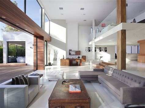 World of architecture modern beverly hills house wood glass and stone