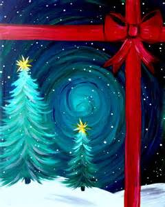 ideas for paintings 15 easy canvas painting ideas for christmas 2017