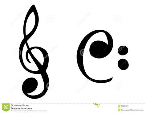 imagenes simbolos de musica s 237 mbolos de m 250 sica de cartoonish imagem de stock royalty