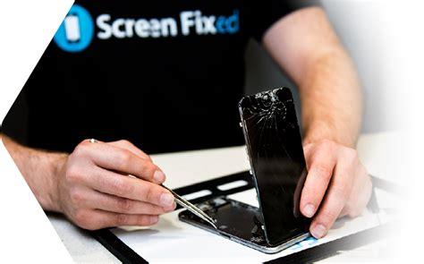 repair  cracked iphone  ipad screen  screen