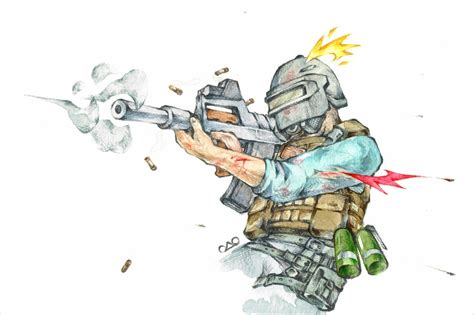 Pubg Sketches by Siu Drawing Sledge Vs Montagne With Tachanka