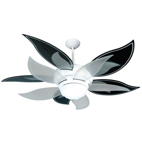 black blade ceiling fan craftmade bloom white ceiling fan with 52 inch black and