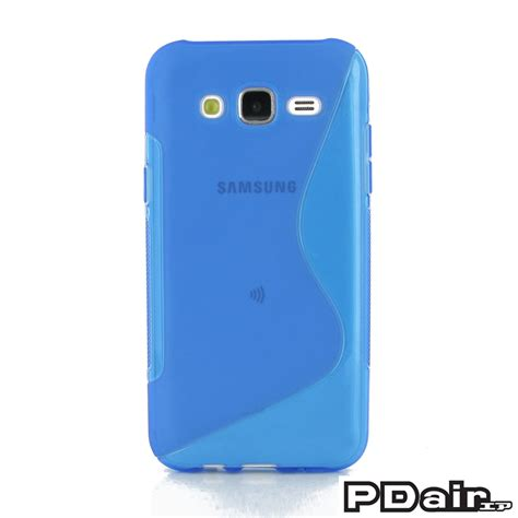 Softcase Ultrathin Samsung Galaxy J5 J500f Samsung Galaxy J5 Soft Blue S Shape Pattern