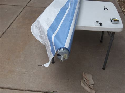 A E Awning Installation by A E Awning Fabric Replacement Stoopid Stuff