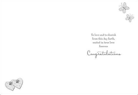 free wedding day verses for cards wishing you on your wedding day card karenza paperie