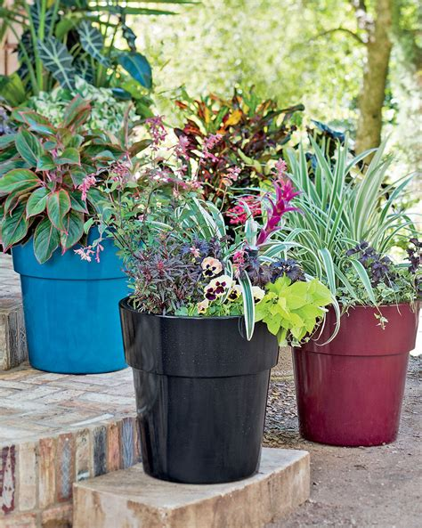 planters interesting large resin planters outdoor large