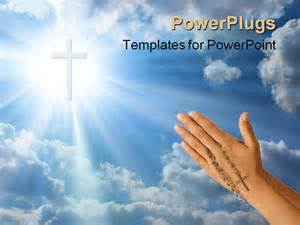 catholic powerpoint templates devoted prayer with rosary in the powerpoint
