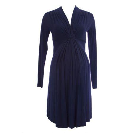 olive garden 63129 olian maternity s knot accent sleeve dress walmart