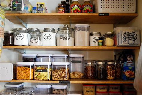 Clear Kitchen Canisters by Easy Tips For Organizing The Kitchen Pantry Ezstorage