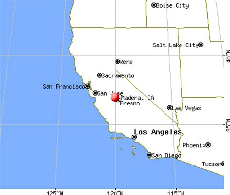 madera california map madera california ca 93637 profile population maps