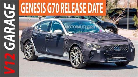 Genesis G70 Price by 2018 Genesis G70 Sedan Interior Price And Release Date