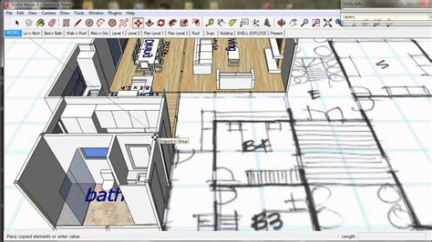 sketchup house plans tutorial google sketchup house plan tutorial house design plans
