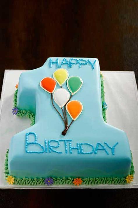 st birthday cake baby boy number