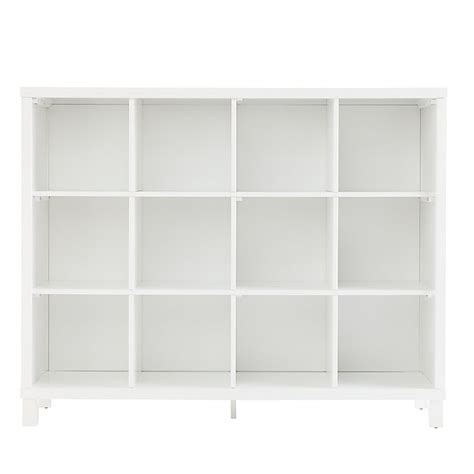 12 Foot Bookcase by Cubic Bookcase White 12 Cube The Land Of Nod